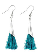 www.sayila.com - Earrings with tassels 60x10mm - J05302