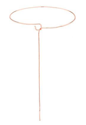www.sayila.es - Collar rígido de brass 37cm