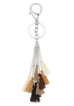www.sayila.com - Key fob with tassels 22cm