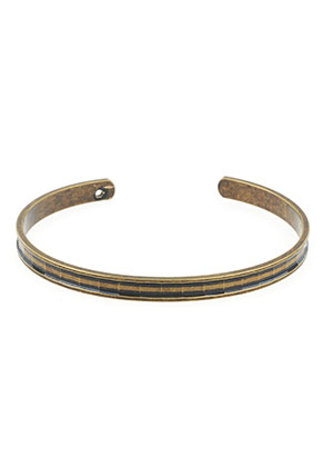 www.sayila.be - Brass cuff armband blank 19cm, 5mm breed