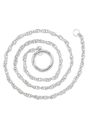 www.sayila.fr - EasyClip collier en métal 80cm