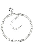 www.sayila.co.uk - Metal bracelet with charm heart 19-25x0,45cm - J05498