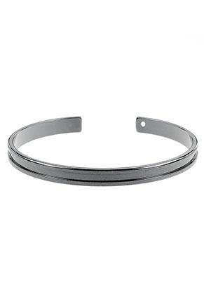 www.sayila.com - Brass cuff bracelet blank 19cm, 5mm wide
