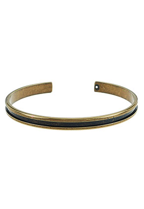 www.sayila.nl - Brass cuff armband blank 19cm, 5mm breed