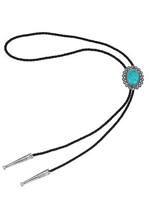 www.sayila-perlen.de - Bolo Tie Halskette 100cm