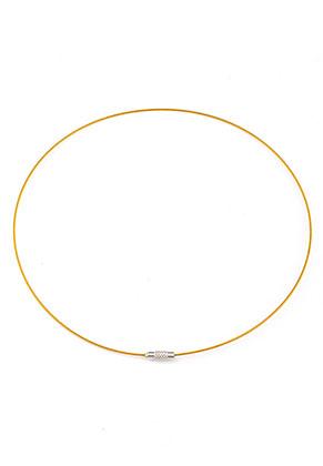 www.sayila.nl - Metalen halskettingen met sluiting 44cm (3+1mm dik)