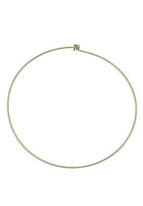 www.sayila.nl - Brass spang 40cm (1,5mm dik) met afneembare bolsluiting