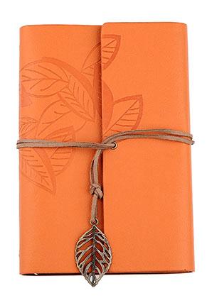 www.sayila.es - Cuaderno de notas decorado con hojas