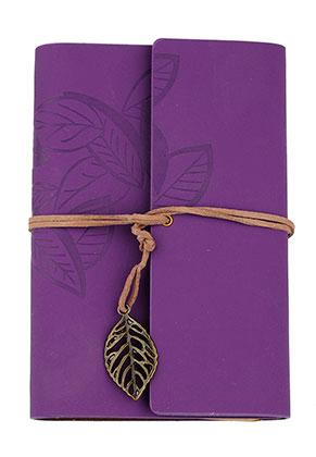 www.sayila.fr - Carnet de notes décoré avec feuilles
