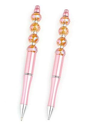 www.sayila.fr - Stylo en métal/matière synthétique pour perles 15cm