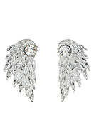 www.sayila.com - Metal ear jackets with strass wing 30x15mm - J05759