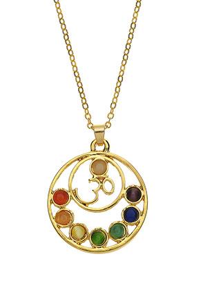 www.sayila.es - Collar con colgante Rainbow Chakra 45-51cm