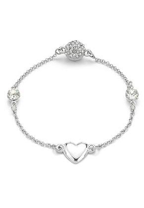 www.sayila.com - Mix & match bracelet with connector heart 19cm