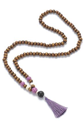 www.sayila.es - Collar Mala con borla (108 abalorios) 74cm