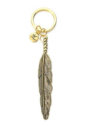 www.sayila.com - Avilana key fob feather 11x2,5cm