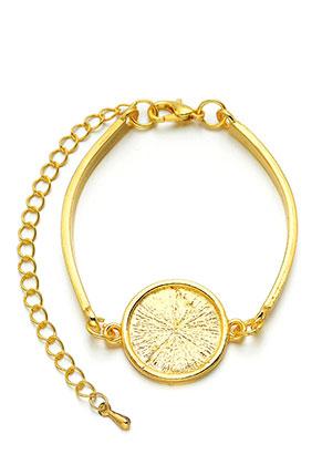 www.sayila-perlen.de - Metall Armband mit Fassung für 18mm Klebstein