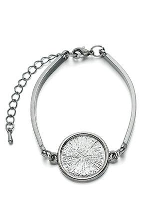 www.sayila.be - Metalen armband met kastje voor 18mm plaksteen