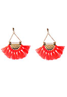 www.sayila.com - Fringe fan earrings 7x6,5cm - J06410