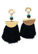 www.sayila.com - Fringe fan earrings 7x6cm - J06428