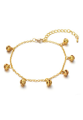 www.sayila.nl - Armband/enkelbandje met belletjes 20-25cm