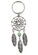 www.sayila.co.uk - Dreamcatcher key fob - J06546