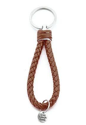 www.sayila.es - Llavero de cuero artificial 13x3cm