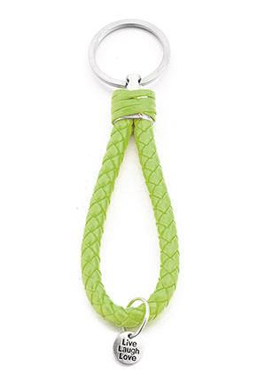 www.sayila.be - Imitatieleren sleutelhanger 13x3cm