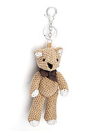 www.sayila.com - Key fob with bear - J06589