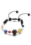 www.sayila.com - Natural stone bracelet 17-25cm - J06593