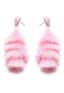www.sayila.co.uk - Ear studs with tassels 95x40mm - J06612