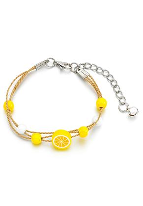 www.sayila.nl - Armband met citroen 15-21cm