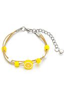 www.sayila.be - Armband met citroen 15-21cm - J06721