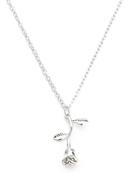 www.sayila-perlen.de - Halskette mit Anhänger Rose 50-55cm - J06735
