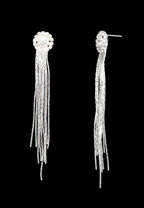 www.sayila.com - Ear studs with strass 90x13mm