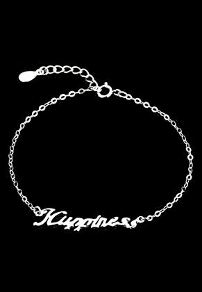 www.sayila.nl - 925 Zilveren armband Happiness 16-19cm