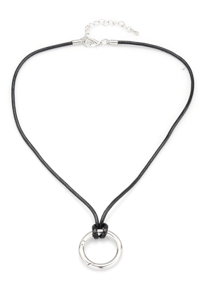 www.sayila.com - EasyClip wax cord suede necklace 45-50cm