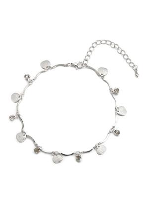 www.sayila.nl - Armband/enkelbandje met bedels schelpen 22-26cm