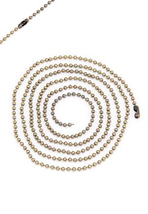 www.sayila.nl - Brass ball chain halsketting 100cm, 2,5mm dik