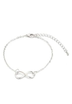 www.sayila.nl - Armband/enkelbandje met infinity teken 20-25cm