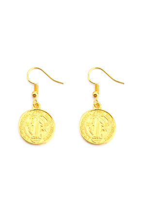 www.sayila.com - Earrings with coins 35x17mm