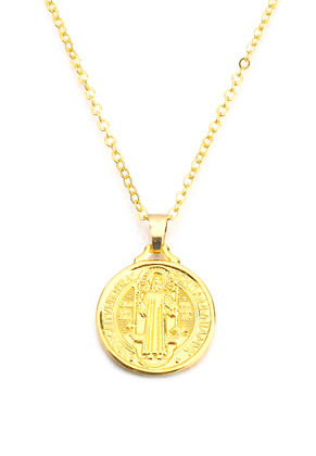 www.sayila.com - Necklace with coin 45-50cm