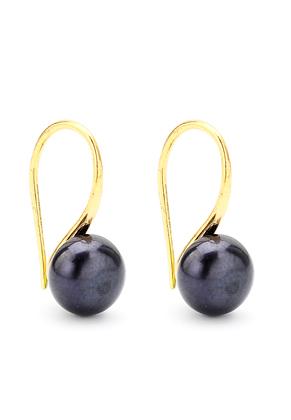 www.sayila.com - Metal earrings with freshwater pearl 18x8mm
