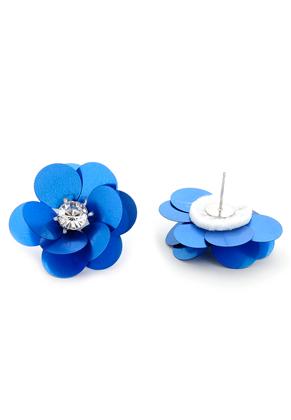 www.sayila.be - Oorstekers met bloem 35x25mm