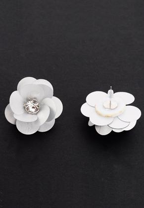 www.sayila.nl - Oorstekers met bloem 35x25mm