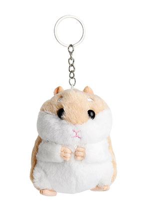www.sayila-perlen.de - Schlüsselanhänger mit Hamster