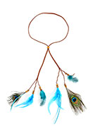 www.sayila.com - Headband with feathers - J07678