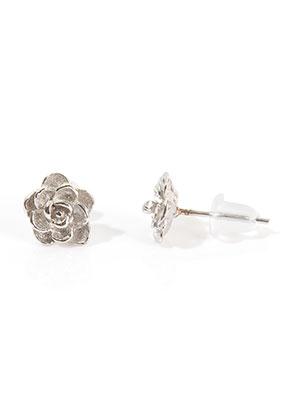 www.sayila.fr - Clous d'oreilles en 925 argent rose 13x8mm