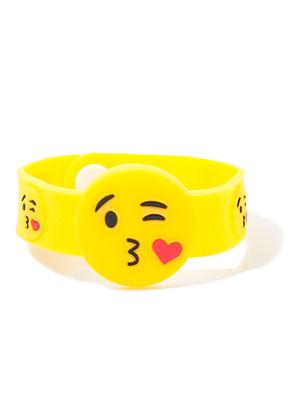 www.sayila.nl - Armband met emoji 17-19cm