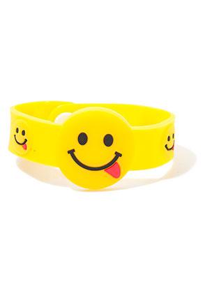 www.sayila-perlen.de - Armband mit Emoji 17-19cm