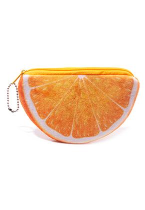 www.sayila.nl - Portemonnee sinaasappel 14x9,5cm